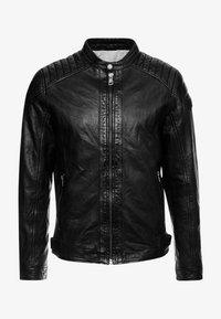 Freaky Nation - BLUERACY - Leather jacket - black - 4
