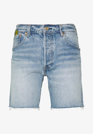 X SUPER MARIO 501® '93 SHORTS - Szorty jeansowe - blue denim