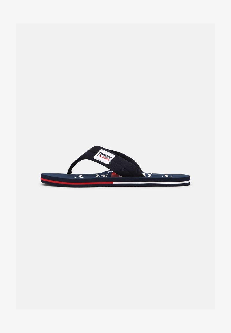 Tommy Jeans - BEACH - T-bar sandals - twilight navy
