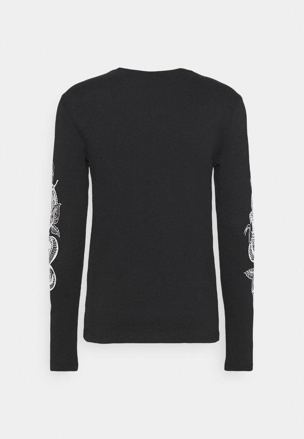 YOURTURN UNISEX - Bluzka z długim rękawem - black/czarny Odzież Męska EYVC