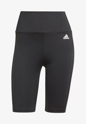 DESIGNED TO MOVE HIGH-RISE SHORT SPORT TIGHTS - Leggings - black/white