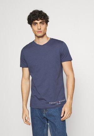 LOGO TEE - Print T-shirt - faded indigo