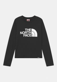 The North Face - EASY TEE UNISEX - Long sleeved top - black/white - 0