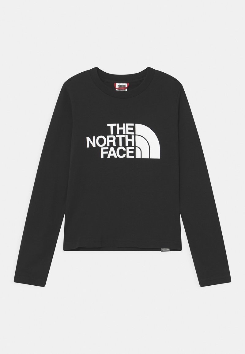 The North Face - EASY TEE UNISEX - Long sleeved top - black/white