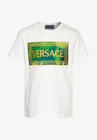 Versace - JUNGLE CAPSULE - Printtipaita - bianco - 0