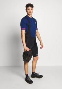 ODLO - STAND UP COLLAR ZIP ESSENTIAL - T-Shirt print - estate blue - 1