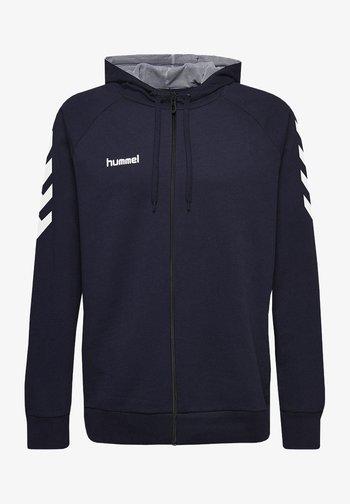 HMLGO - Zip-up hoodie - marine