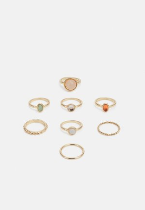 FGFEMMA 8 PACK - Bague - gold-coloured/multi