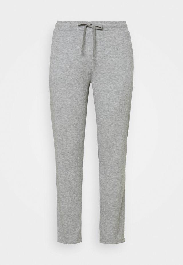 VMAMAIDRAWSTRING TROUSER - Spodnie treningowe - light grey melange