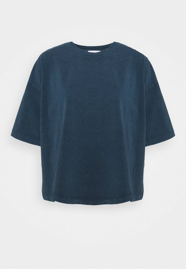 ACID WASH TEE - T-shirt basic - denim blue