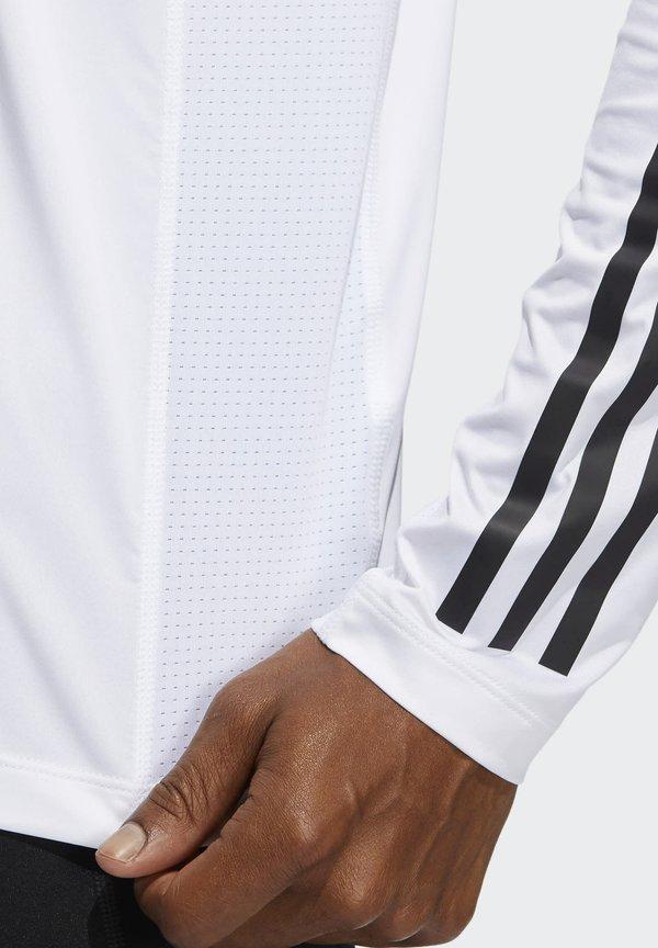 adidas Performance Bluzka z długim rękawem - white/biały Odzież Męska VMUR