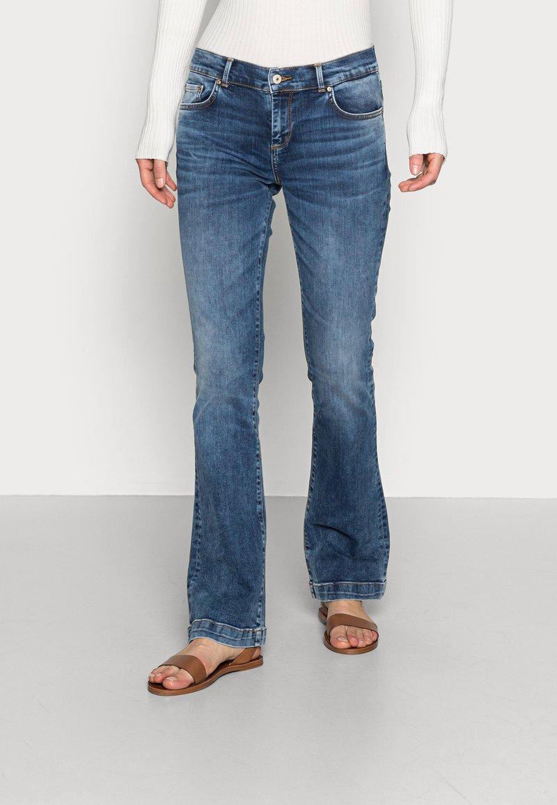 LTB - FALLON - Flared Jeans - jama wash