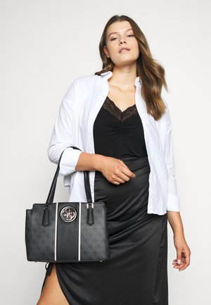 OPEN ROAD LUXURY SATCHEL - Handbag - coal