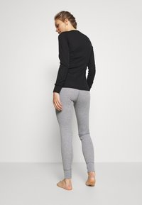 ODLO - BOTTOM LONG ACTIVE WARM ECO - Base layer - grey melange - 2