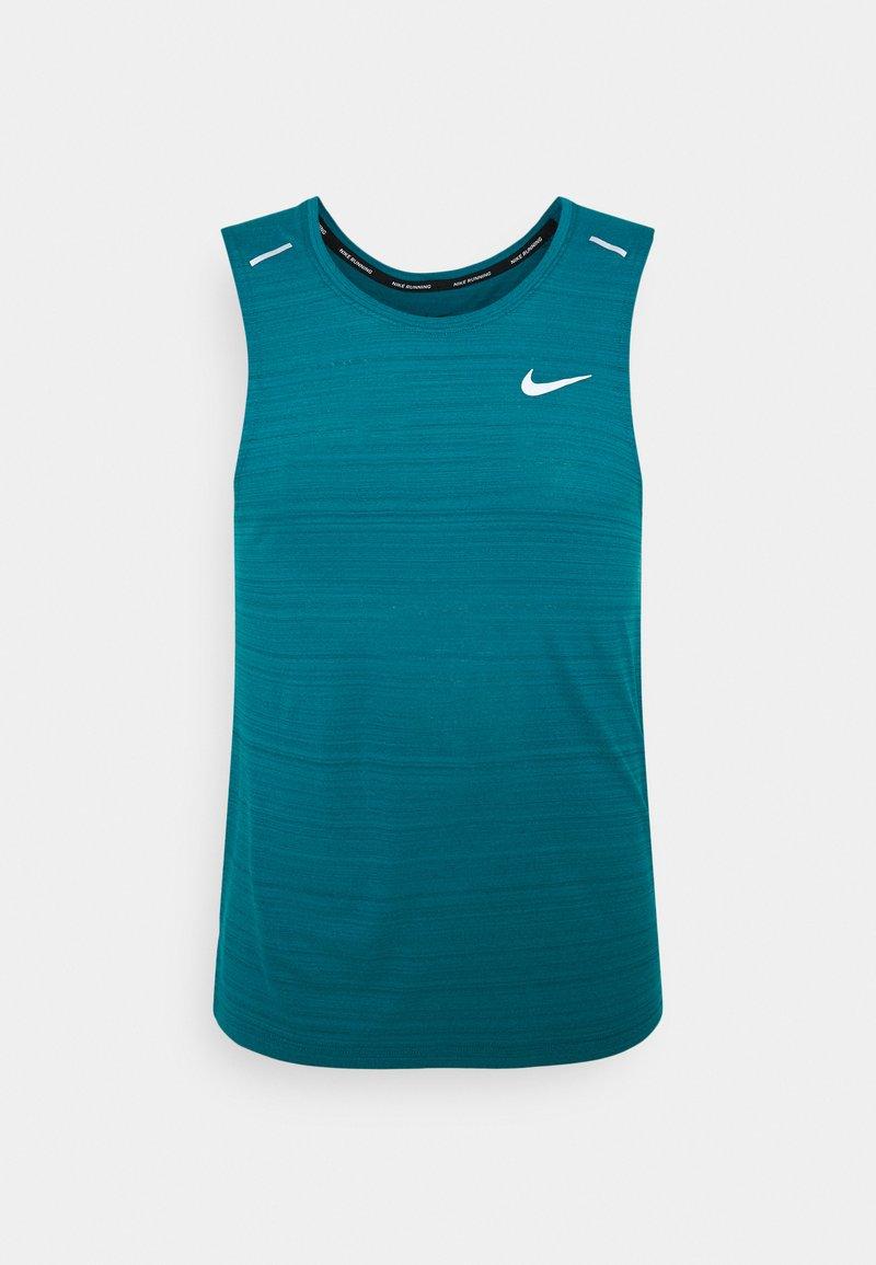 Nike Performance - MILER TANK - Funkční triko - blustery/silver