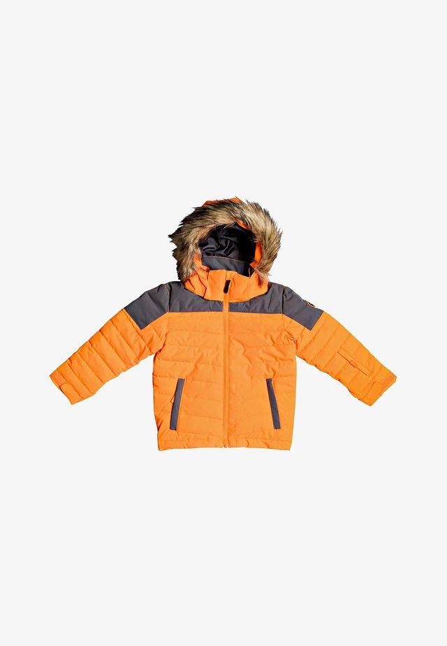 Snowboardjas - shocking orange