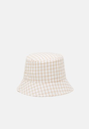 PCLAYA BUCKET HAT - Klobouk - bright white/almond buff