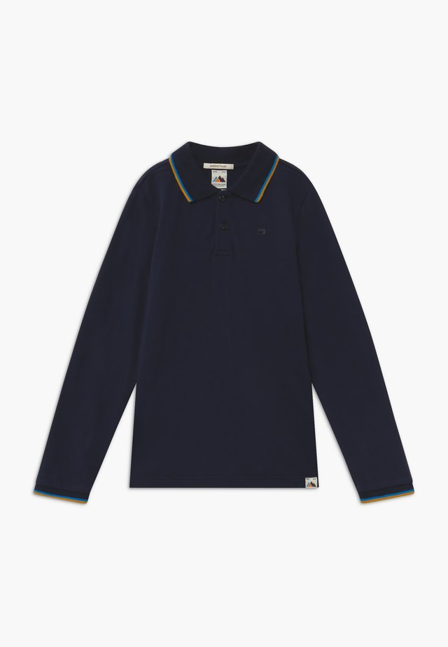 CONTRAST TIPPING - Polo shirt - night