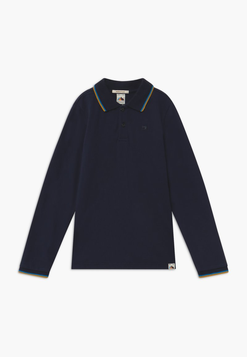 Scotch & Soda - CONTRAST TIPPING - Polo shirt - night