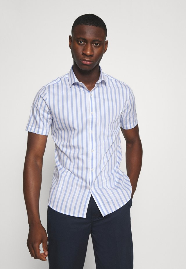 NEW STRIPE - Shirt - blue