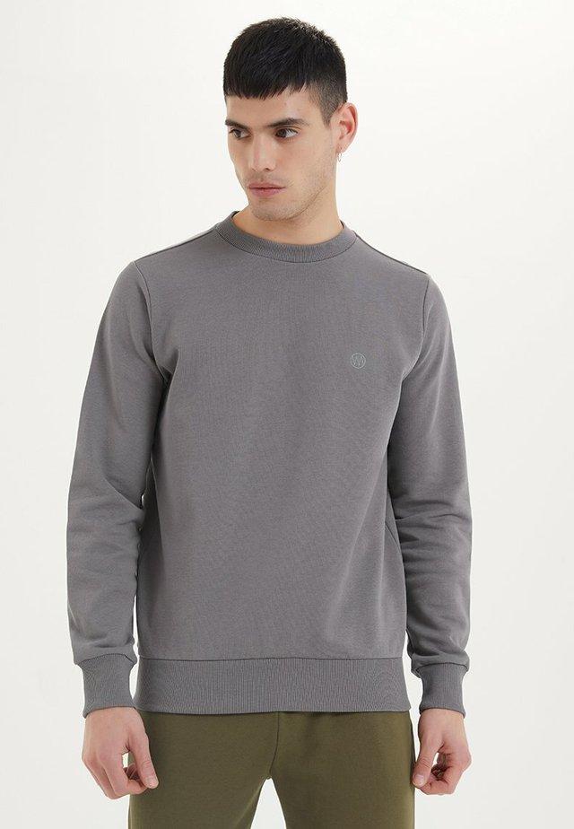ESSENTIALS - Sweatshirt - charcoal grey