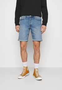 Jack & Jones - JJIRICK JJORIGINAL  - Denim shorts - blue denim - 0