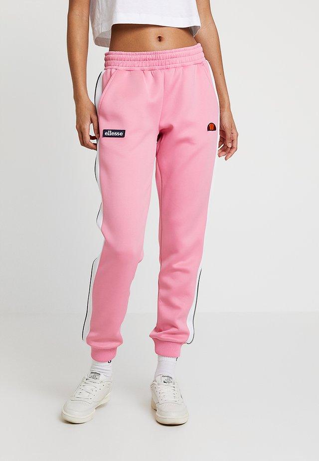 NERVET - Tracksuit bottoms - pink