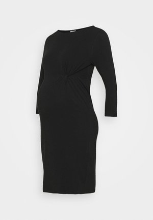 MLSIA 3/4 DRESS - Trikoomekko - black