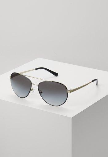 AVENTURA - Sunglasses - gold-coloured/grey