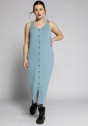 Jersey dress - duifblauw