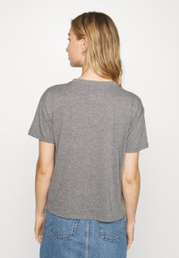 Hollister Co. - TIMELESS LOGO - T-shirts med print - grey - 2