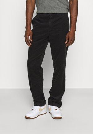 MASTER PANT FORD - Pantalon classique - black rinsed