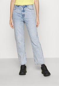 EDITED - MIREA  - Straight leg jeans - light blue stone wash - 0