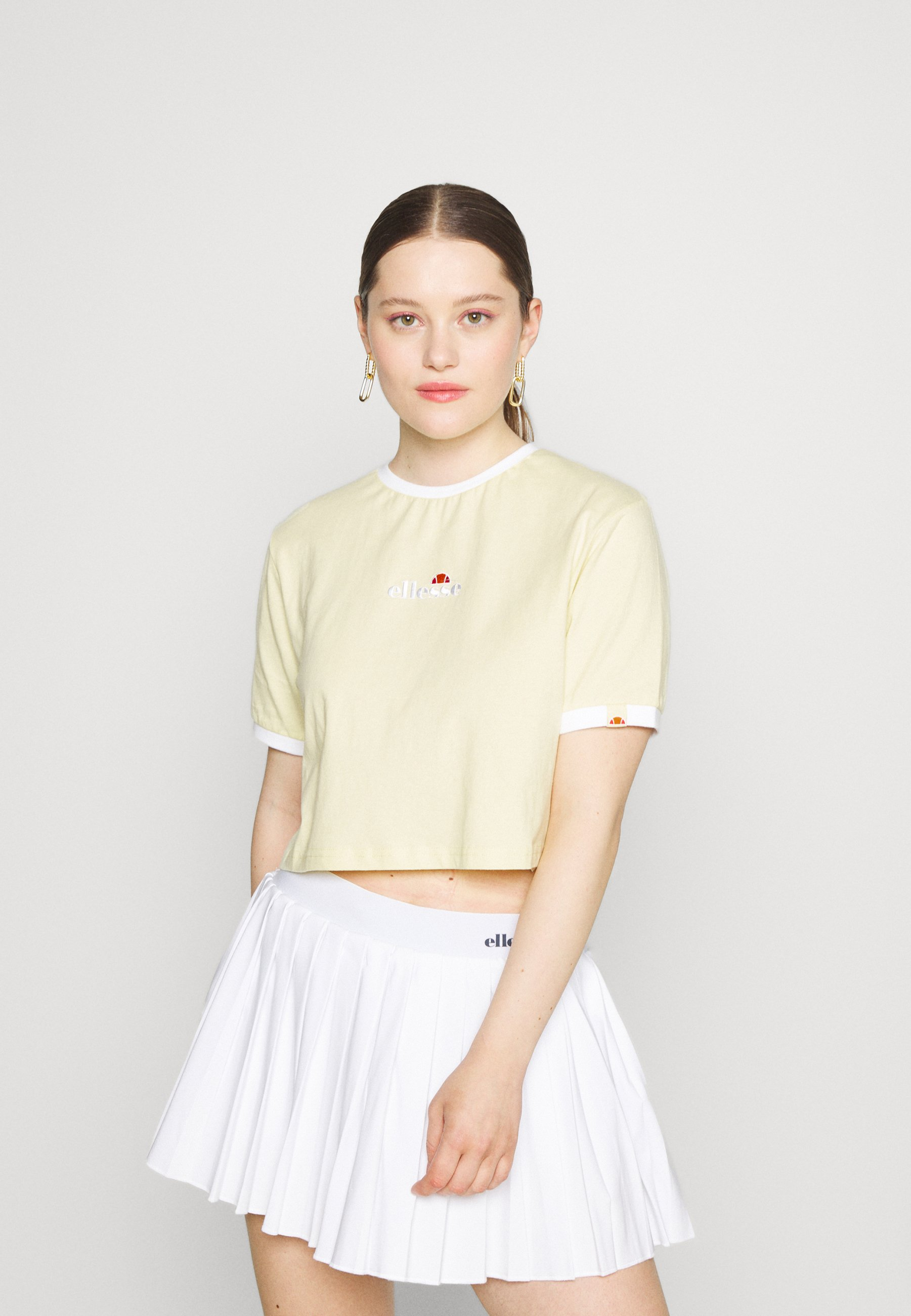 Damen DERLA CROP - T-Shirt basic