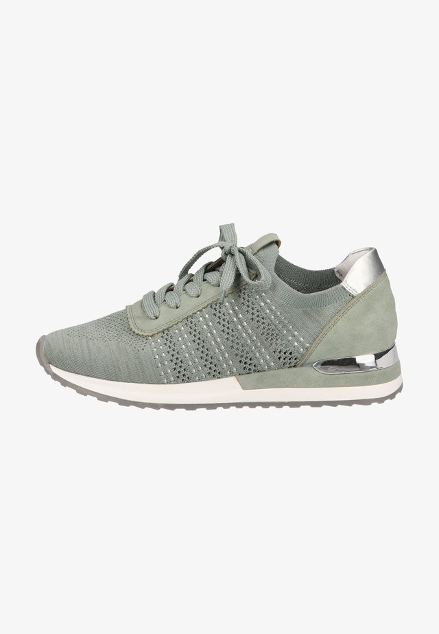 Sneakers laag - mint peppermint silver