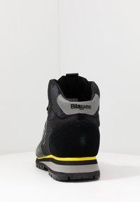 Blauer - AKRON - Lace-up ankle boots - black - 3
