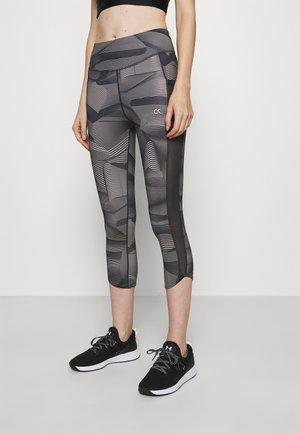 CROP LENGTH - Leggings - black