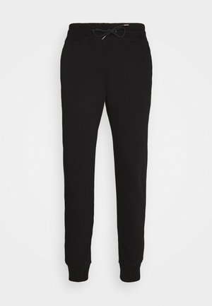 MENS SLIM FIT  - Tracksuit bottoms - black