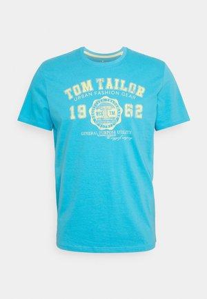 LOGO TEE - Print T-shirt - north blue