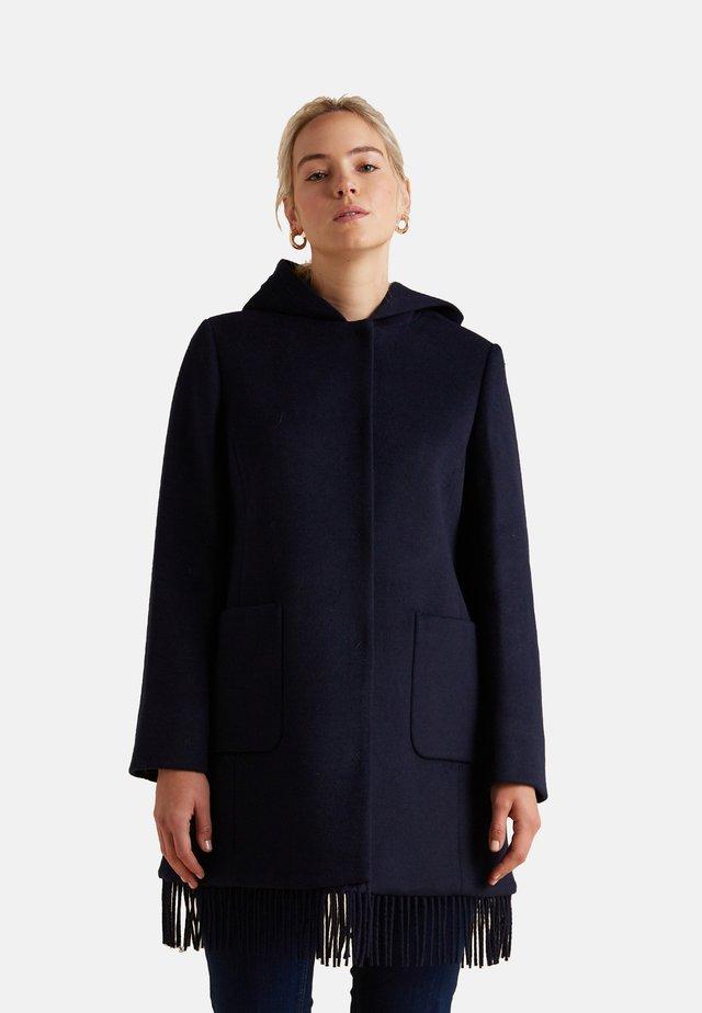 Short coat - blu
