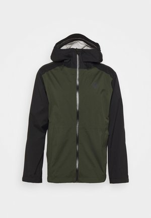 STORMLINE STRETCH RAIN SHELL - Hardshelljacke - cypress/black
