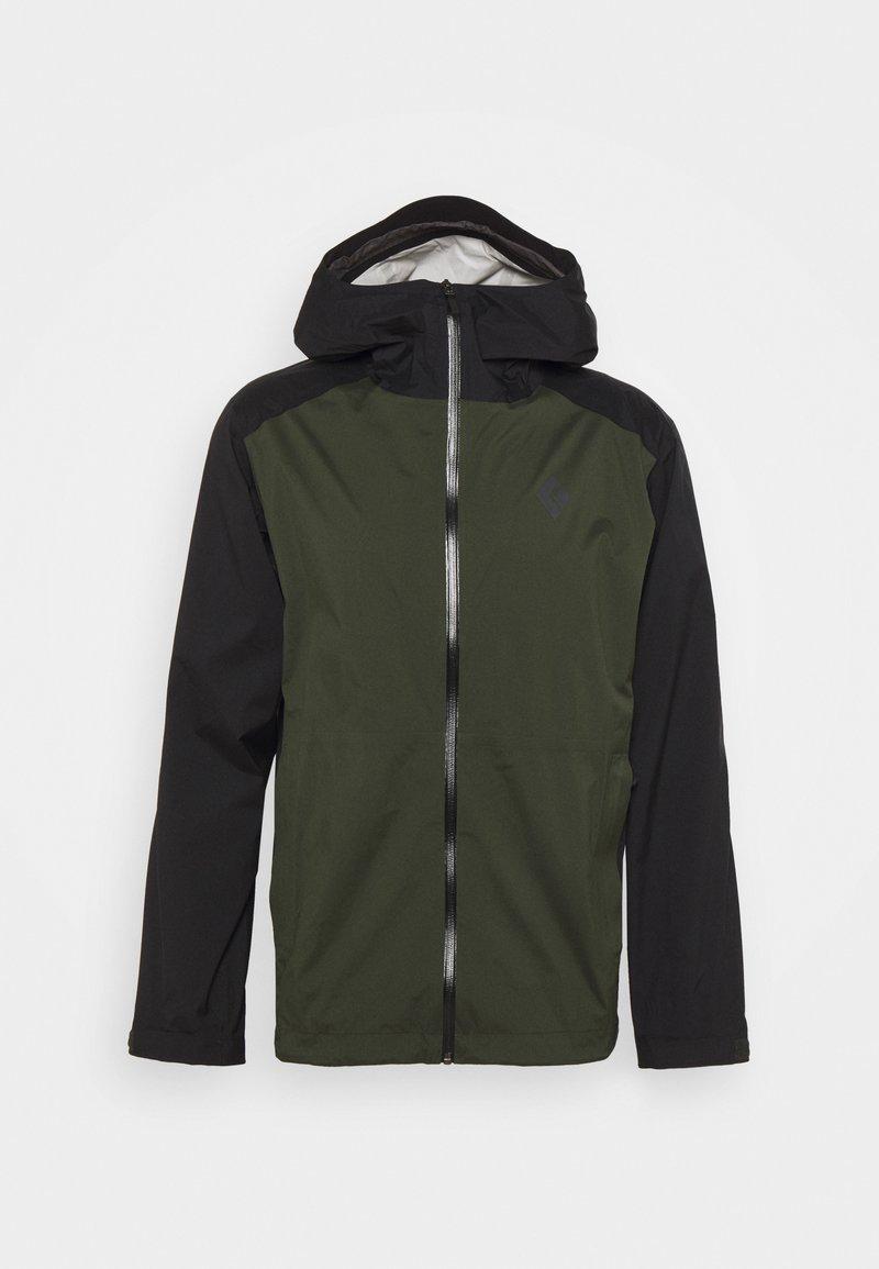 Black Diamond - STORMLINE STRETCH RAIN SHELL - Hardshell jacket - cypress/black