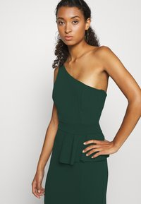 WAL G. - ONE SHOULDER DRESS - Occasion wear - forest green - 3