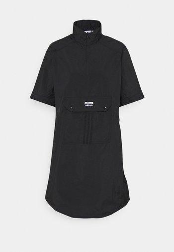 DRESS - Vestido camisero - black