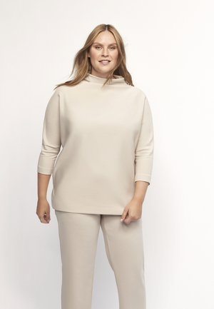 GERO - Long sleeved top - taupe