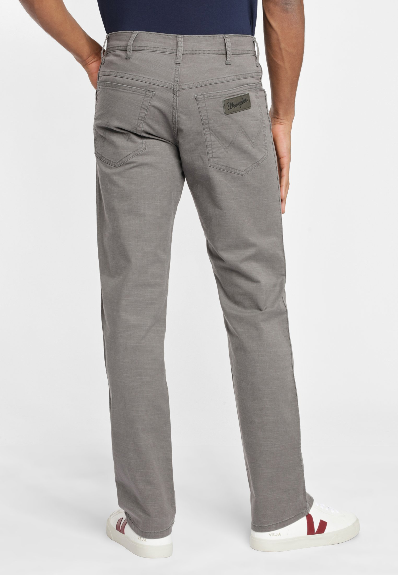 Wrangler TEXAS - Pantalon classique - grey G8BSuHWh