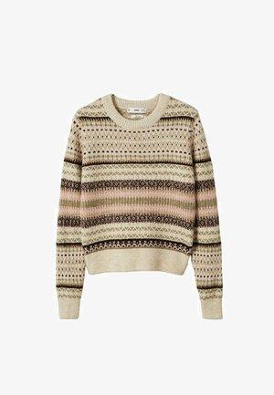 Sweter - zand