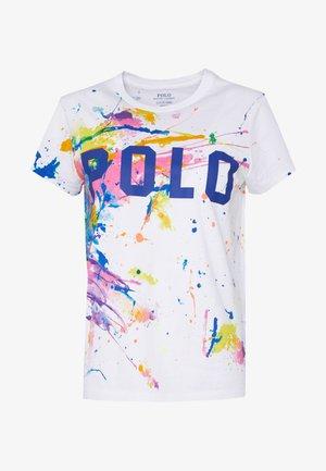 Camiseta estampada - paint splatter