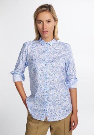 MODERN CLASSIC - Skjortebluser - blau/weiß