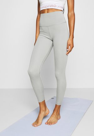 THE YOGA 7/8 - Tights - particle grey/heather/platinum tint
